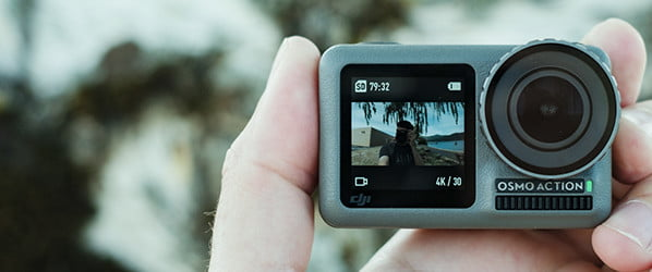 DJI's dual-screen action cam is here to dethrone the mighty GoPro