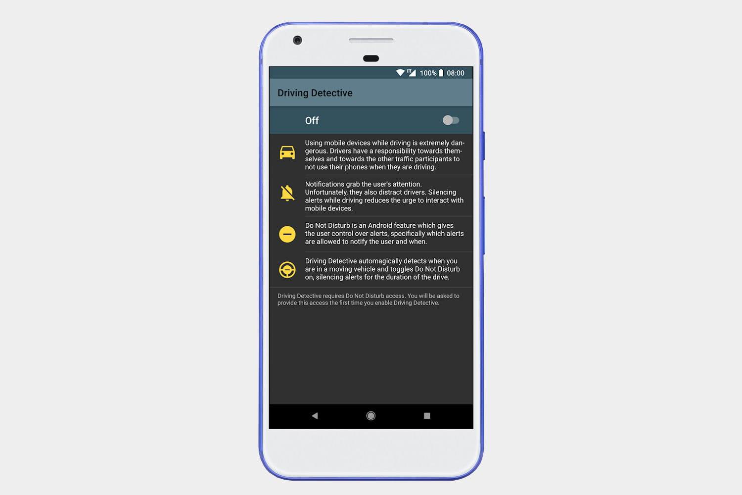 best android apps driving detective