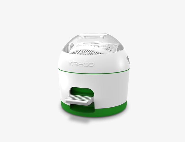 the drumi is a foot powered washing machine drumi0623 green