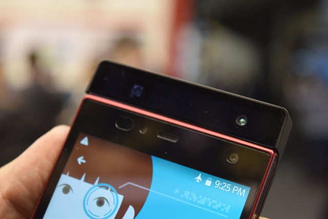 amazing iris scanner lets you unlock your phone and pay bills with eyes delta id fujitsu