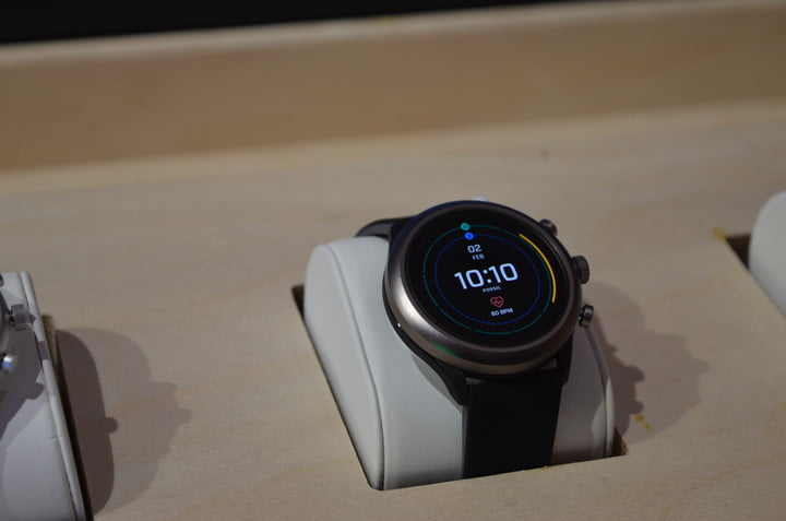 fossil sport smartwatch news pop up