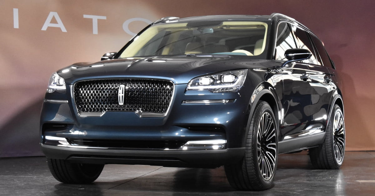 lincoln aviator suv debuts at 2018 new york auto show digital trends. Black Bedroom Furniture Sets. Home Design Ideas