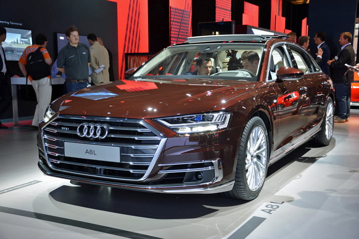 2019 Audi A8 L Wireless Charging News Technology Digital Trends