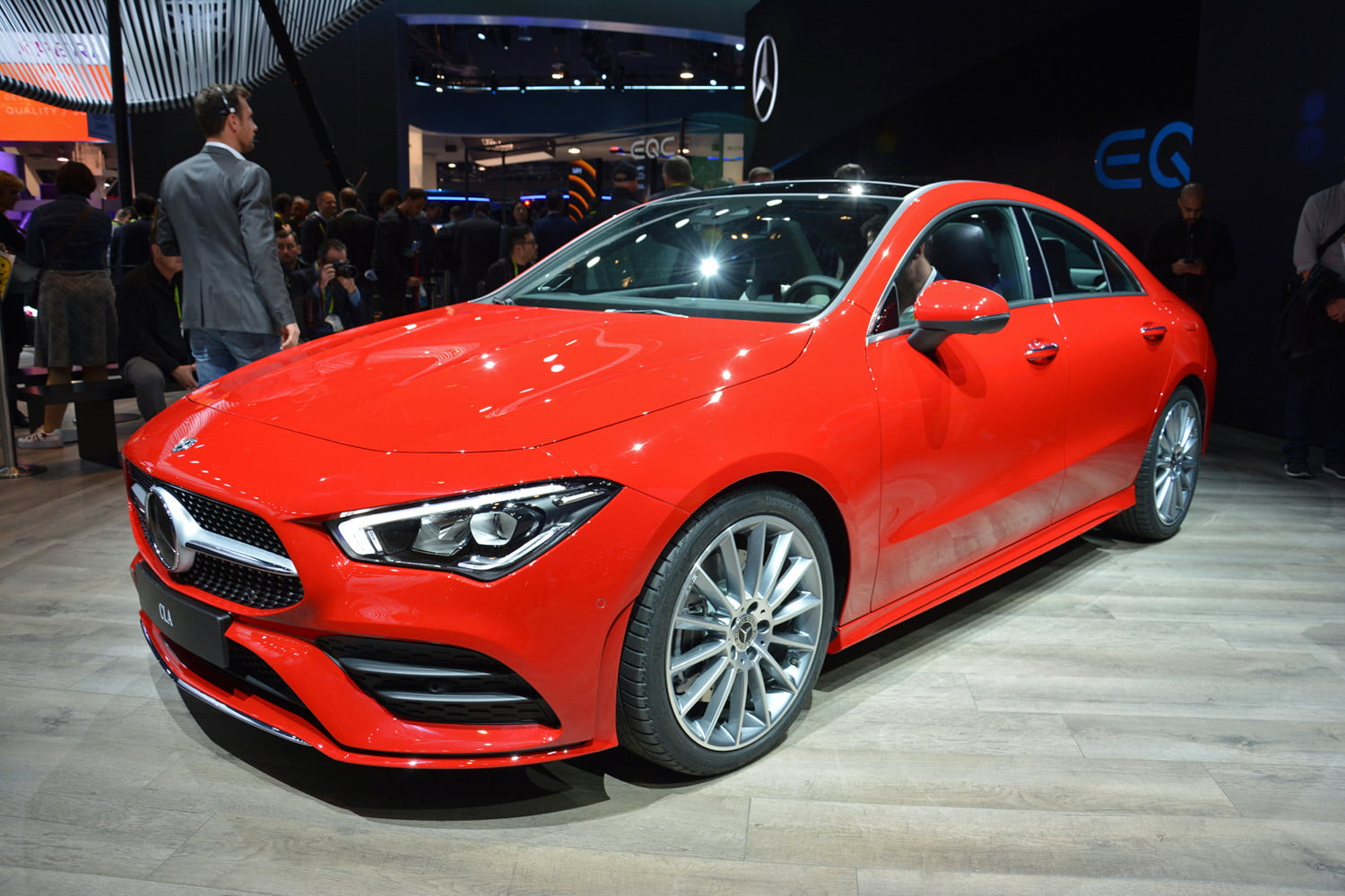 At Ces 2019 Mercedes Benz Shows Off 2020 Cla With Design Led Styling
