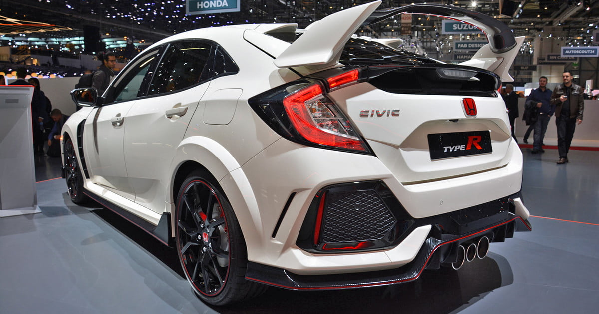the honda civic type r makes its u s debut at autocon in los angeles digital trends. Black Bedroom Furniture Sets. Home Design Ideas
