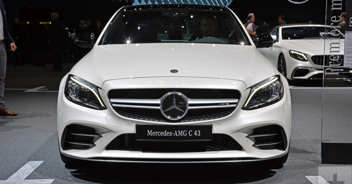 mercedes benz 2019 c class 2019 Mercedes Benz C Class Sedan Revealed Ahead of Geneva Show  mercedes benz 2019 c class