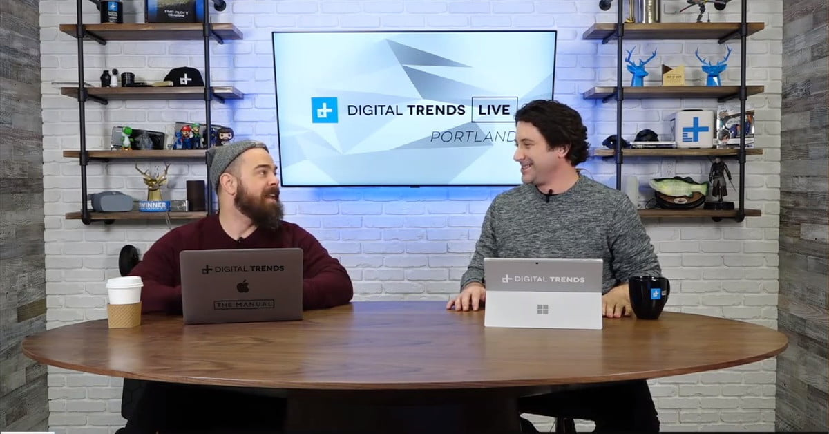 QnA VBage Digital Trends Live: New Motorola flip phone, ads in space, smart umbrella