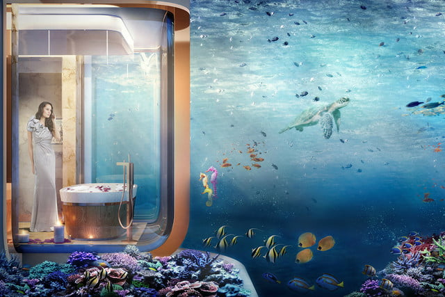 Theres No Need To Grow Gills To Live In This Floating Villa With - These amazing floating villas have underwater bedrooms