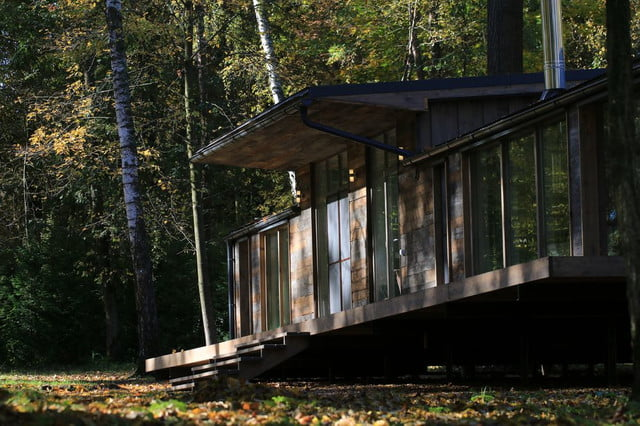 russian cabin built in just 10 days dubldom exterior 5