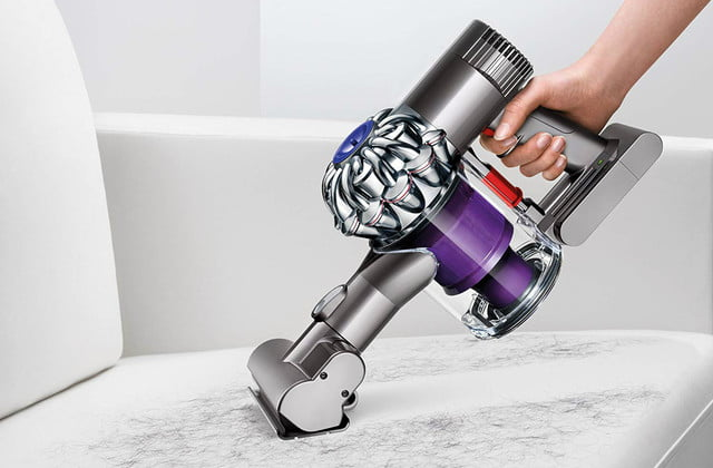 amazon dyson vacuum and air purifier easter week sales v6 animal cordless stick cleaner purple 04