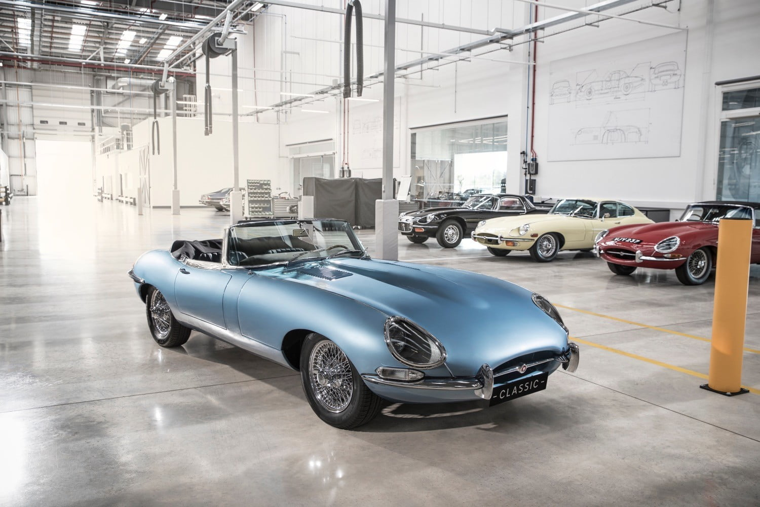 Jaguar electric E-Type Zero is a classic car that\'s good for the ...