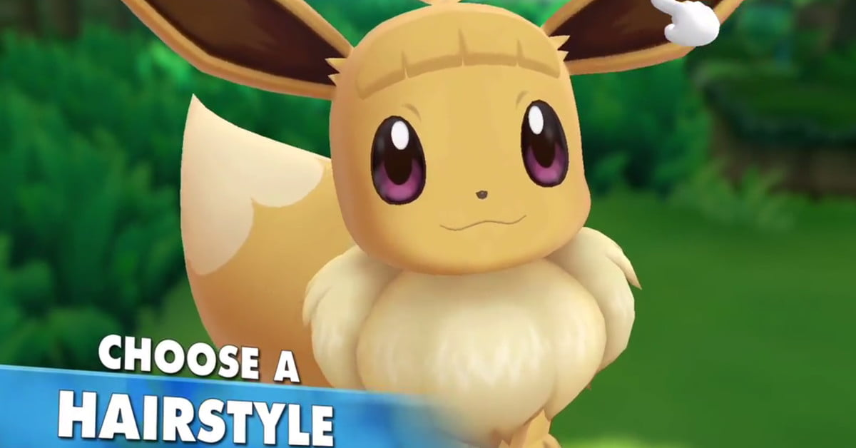 Has science gone too far? 'Pokémon: Let's Go' lets you give Eevee bangs
