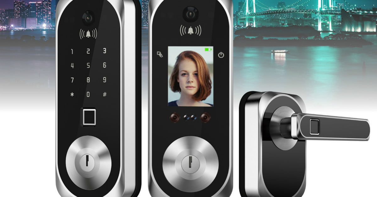 QnA VBage Elecpro Group introduces US:E smart lock with 3D facial recognition at CES 2019