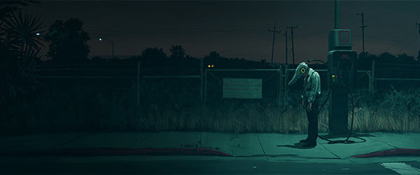 Behind the unsettling sci-fi landscapes of Simon Stalenhag's 'Electric State'