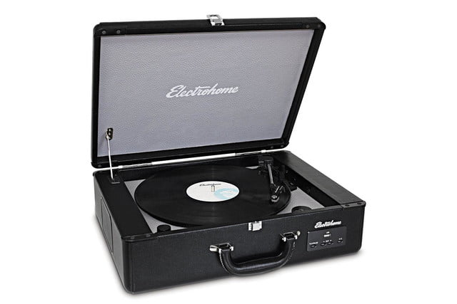 Electrohome Archer Vinyl Record Player front angle