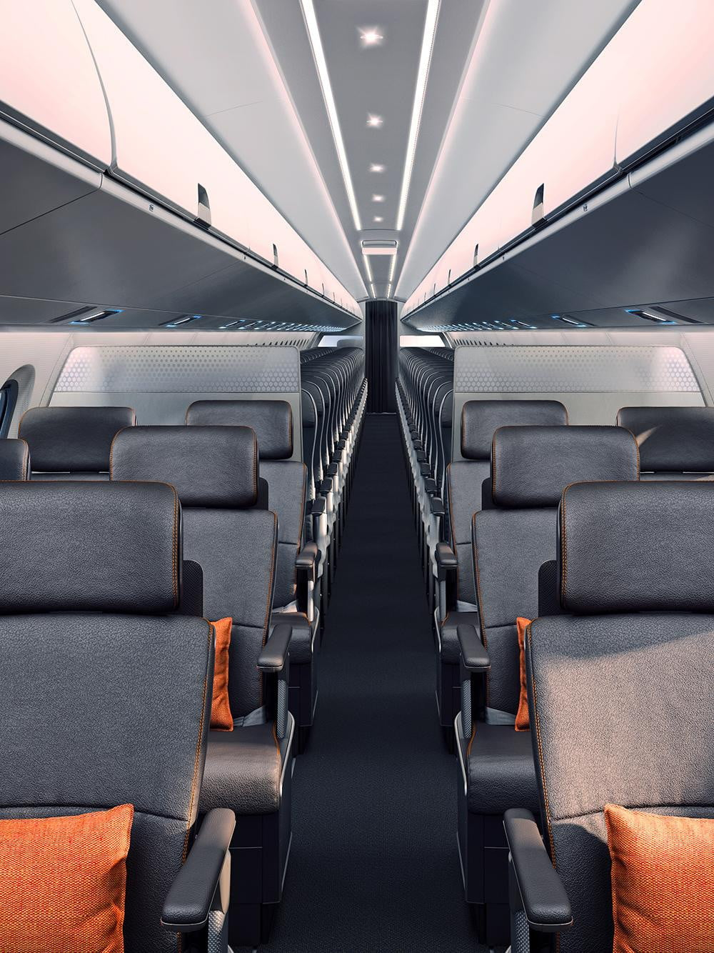 8 best airplane interior design concepts for 2015 for Airplane exterior design
