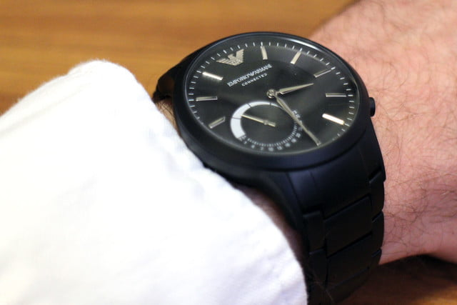 Emporio Armani EA Connected Watch  Review, Features, Price   Digital ... b78e6ca58e