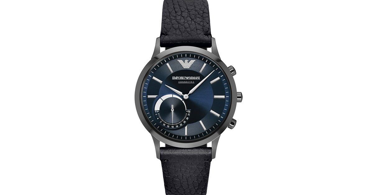 emporio armani ea connected watch review features price digital
