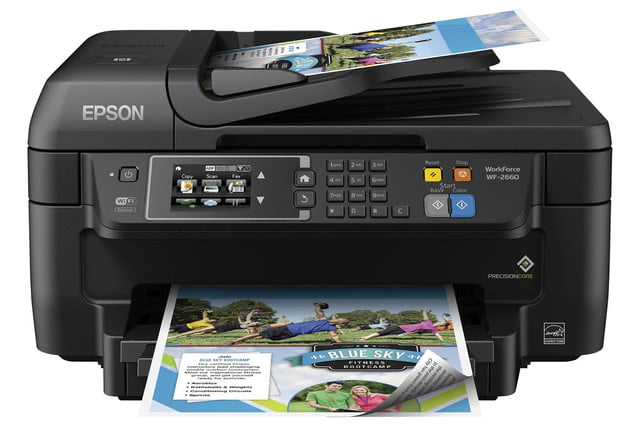 epson lowers price precisioncore inkjet tech new multifunction units workforce wf 2660