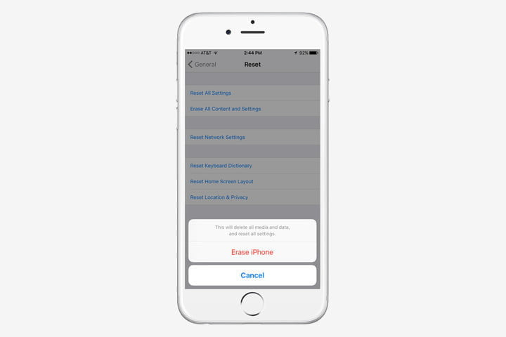 how to factory reset an iphone erase apple
