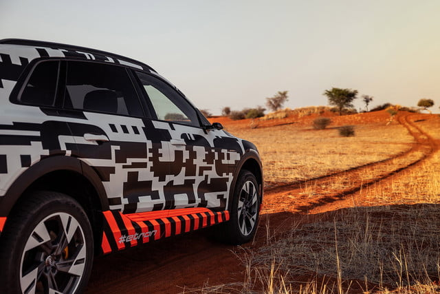 2019 audi e tron prototype driving impressions etron extreme power play right angle
