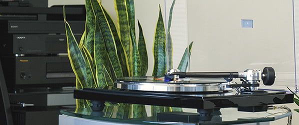 The B-Sharp turntable proves high-end audio can become a family heirloom