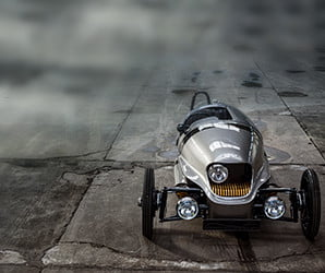 The Morgan EV3 is a concept no longer, production begins in 2018