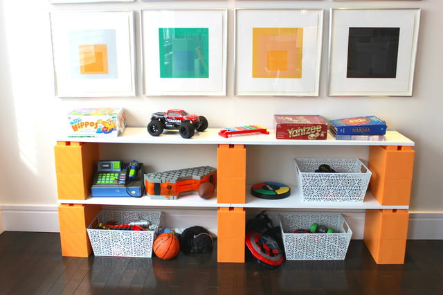 everblock makes life sized legos for furniture building lego shelves