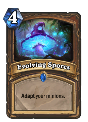 hearthstone decks ungoro evolving spores 55513