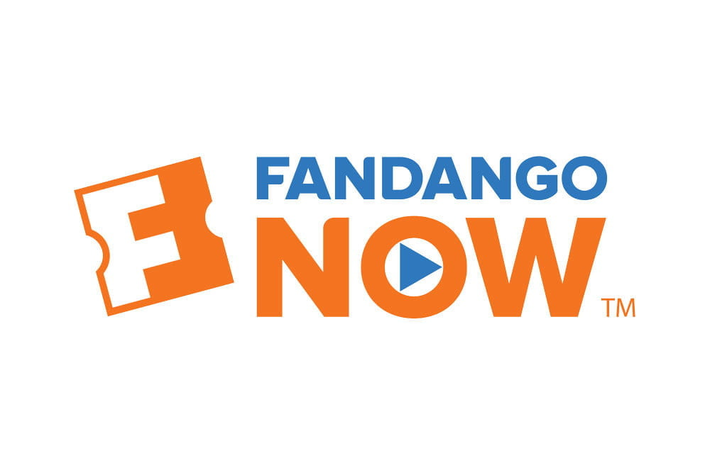 best media streaming sites services fandango now logo