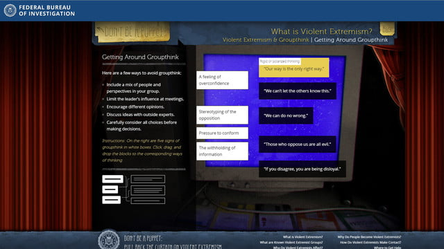 fbi anti extremism site targets teens but misses the mark fbisite03