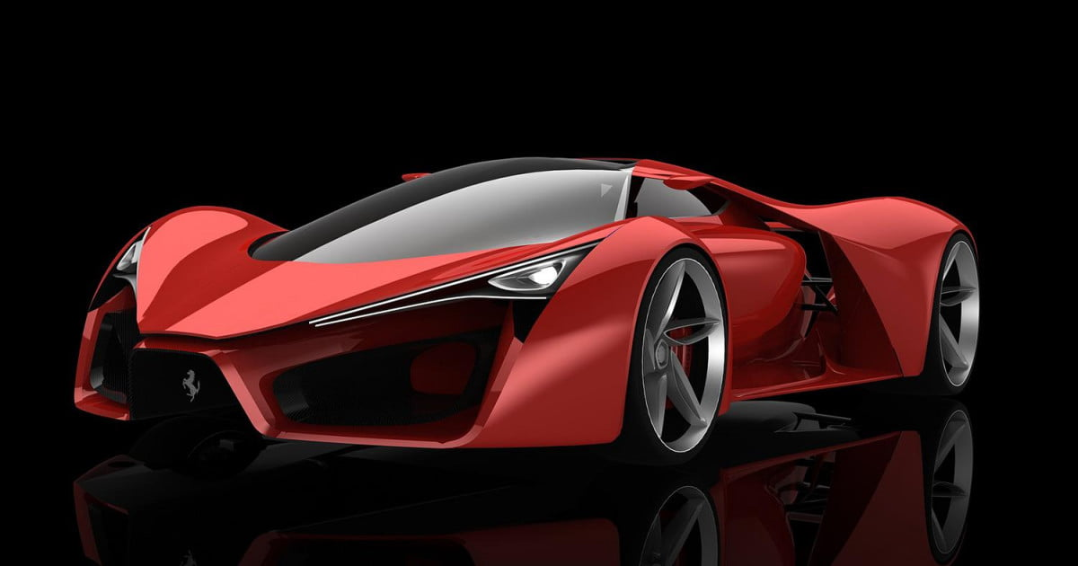 Ferrari F80 Rendered By Adriano Raeli Pictures