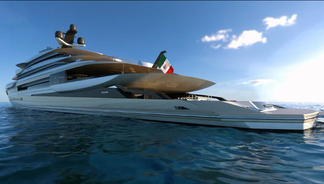 luxury yachts the worlds best super fincantieri private bay 09