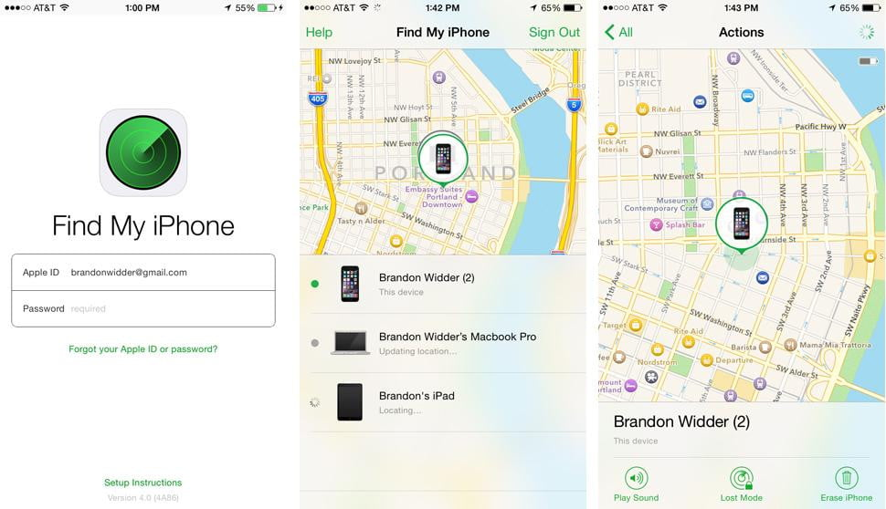 how do i use find my iphone how to use find my iphone on your mac or another ios 19729