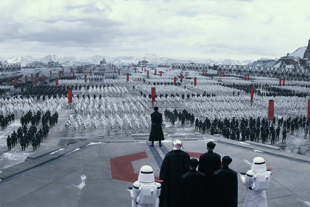 star wars the force awakens world premiere first order