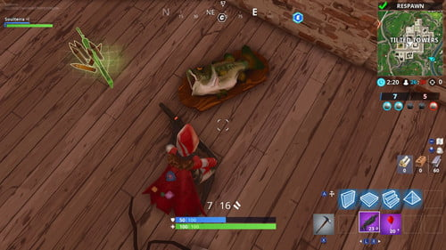 Fortnite Week 8 Challenges: Dance With Different Fish