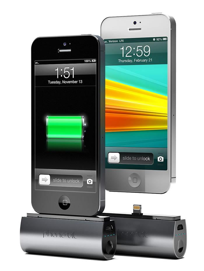 PhoneSuit Flex keeps your iPhone 5 charged, fits in your ...