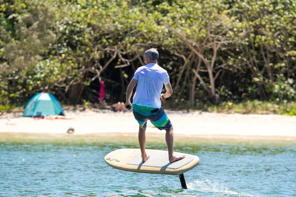 Fliteboard electric hydrofoil surfboard