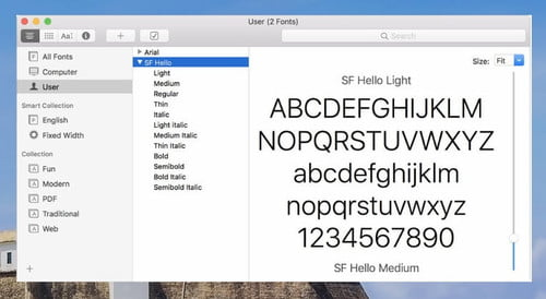 How to Install Fonts on a Mac | Digital Trends