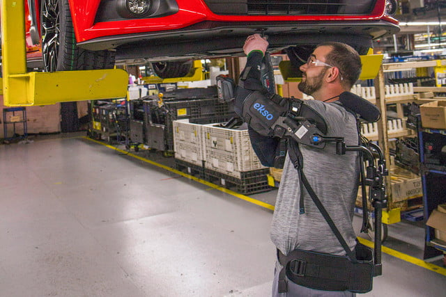 ford workers exoskeleton vests 2a