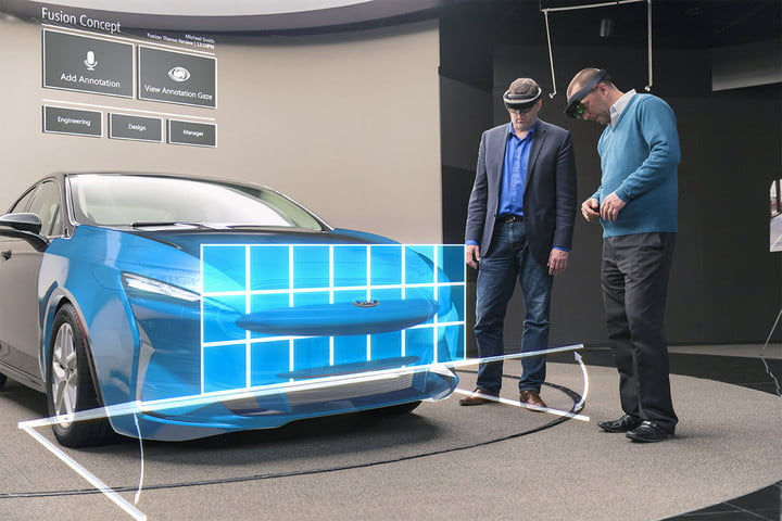 Ford hololens