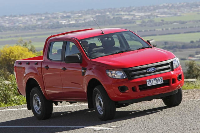 Ford Considering Ranger Sized Compact Pickup
