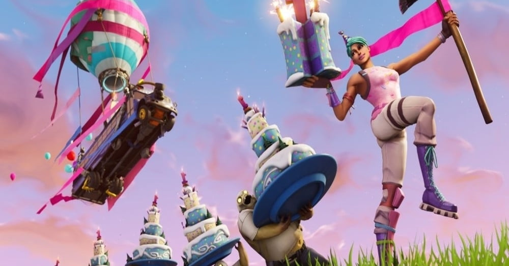Where to Find All Fortnite Birthday Cake Locations ... - 1000 x 523 jpeg 78kB