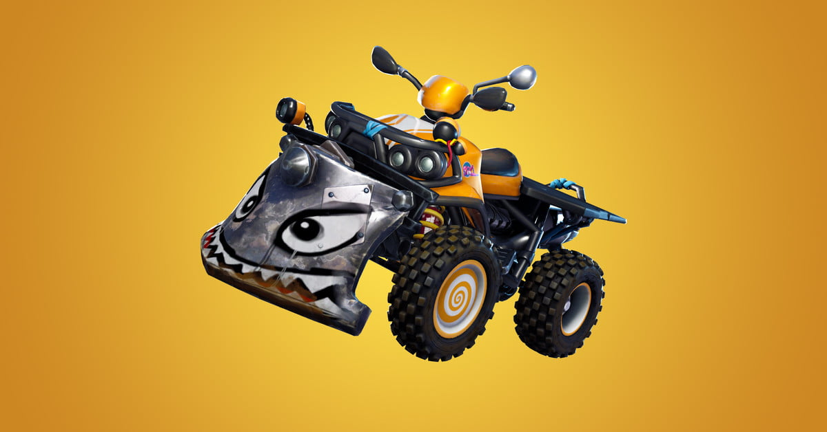 Fortnite Update 610 Introduces The Quadcrasher In Game