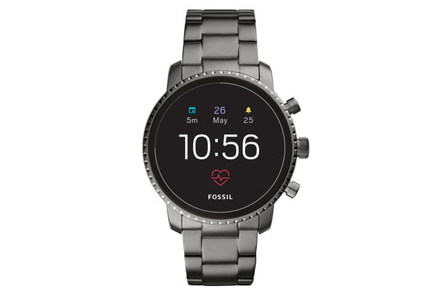 fossil q explorist hr venture news stainless steel 2