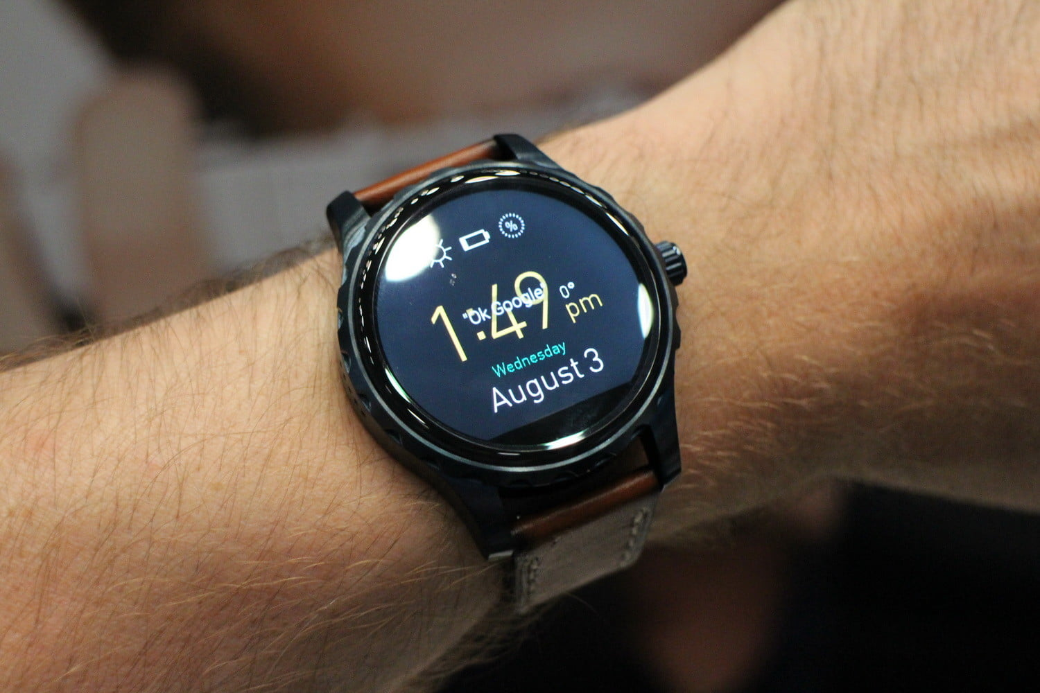 Fossil Q Wander And Marshal Hands On Digital Trends