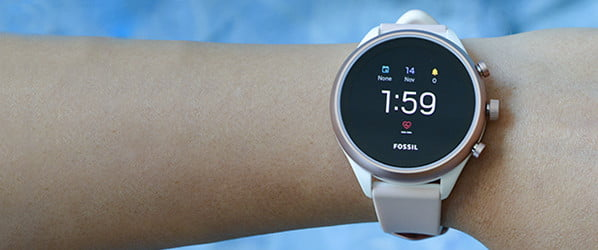 This featherweight Fossil might be the lean smartwatch you've been waiting for