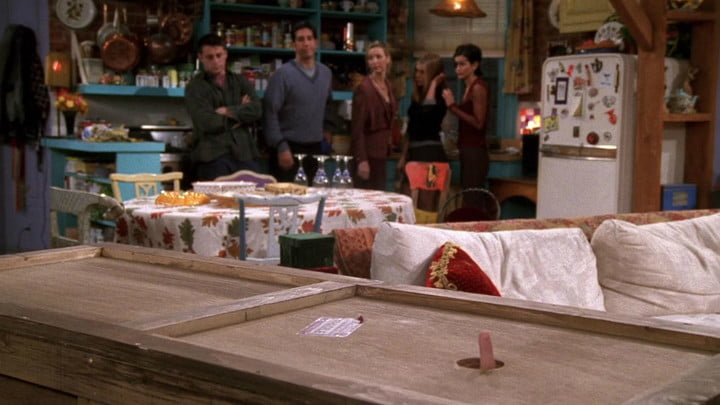 best thanksgiving movies friends chandler in a box
