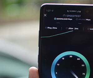 Verizon's 5G is blazing fast on the Galaxy S10 5G, if you're on the right block