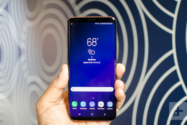 galaxy s9 Plus hands-on review front full